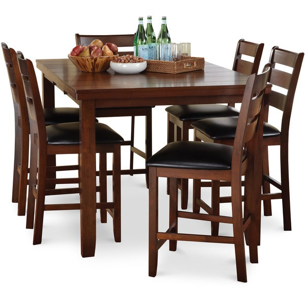Art Van 7 Piece Counter Set Overstock Shopping Big Discounts On Dining Sets