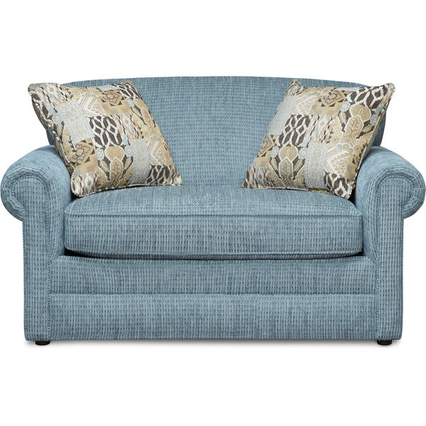 Art Van Kerry Ii Sea Blue Twin Sleeper 17101793 Overstock Shopping Great Deals On Sofas