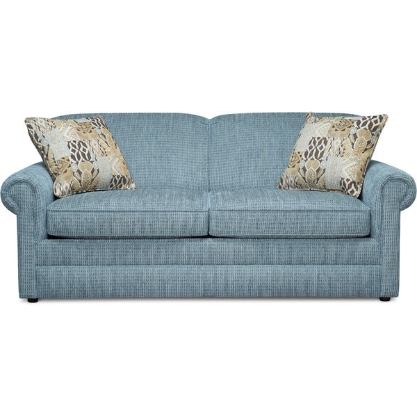 Art Van Kerry Blue 72-inch Sofa - 17101814 - Overstock.com Shopping - Great Deals on Sofas ...