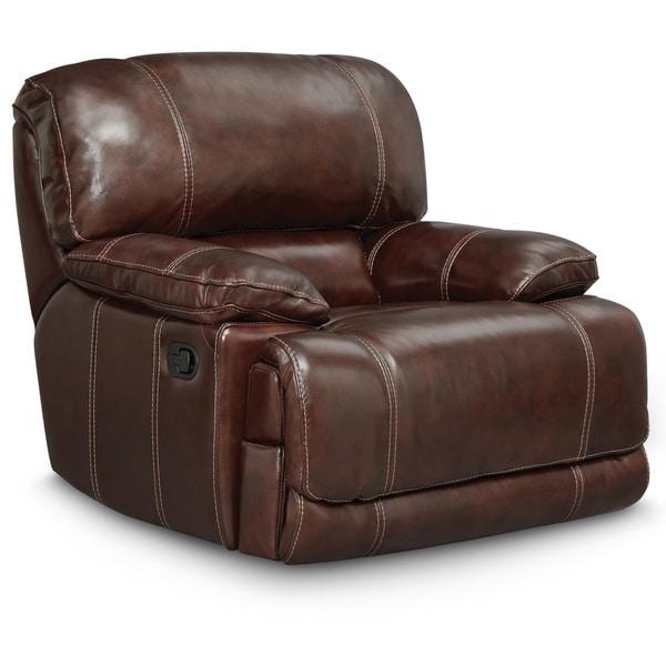 Art Van Leather Recliner