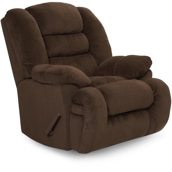 Art van rocker recliner overstock shopping big for Addin chaise recliner