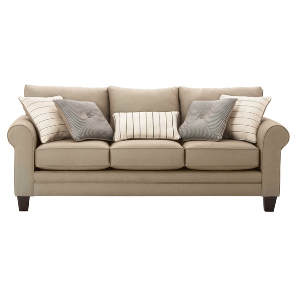 Art Van Grey Calypso Queen Sleeper Sofa