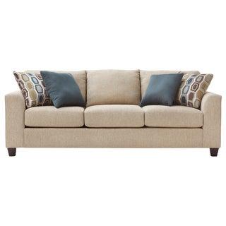 Art Van Neutral Twilight III Sofa