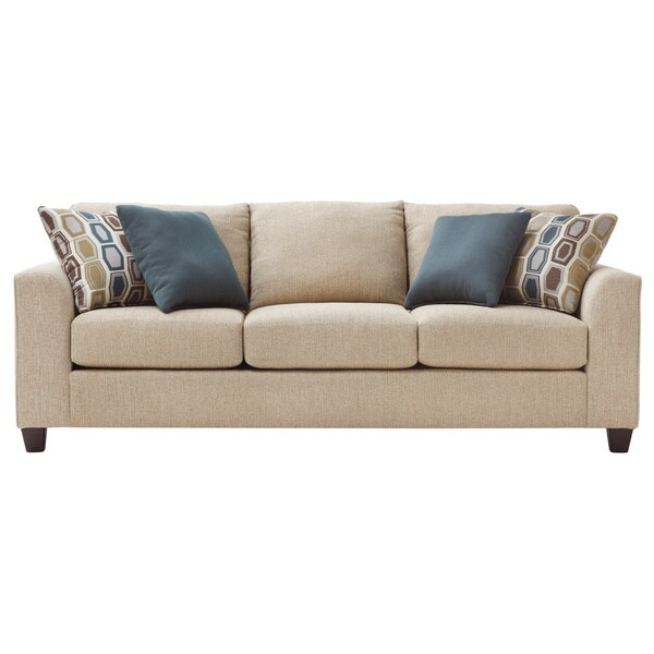 Art Van Neutral Twilight III Queen Sleeper Sofa