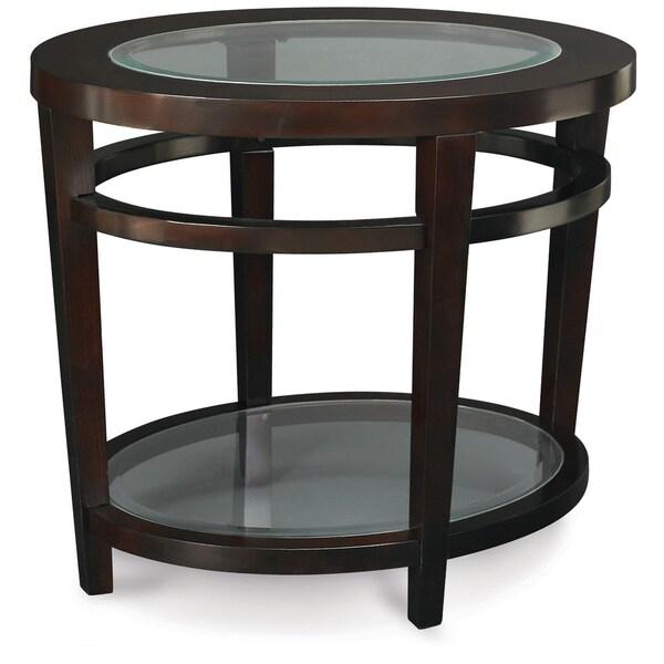 Art Van Coffee Table Sets: Art Van Urbana Oval End Table