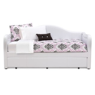 Art Van Brenton White Daybed with Trundle