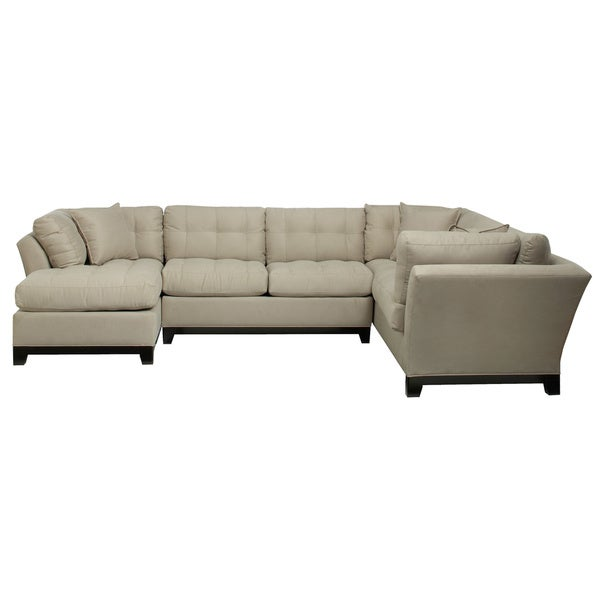 Art van illusions 3 piece sectional 17102122 overstock for Sectional sofa art van