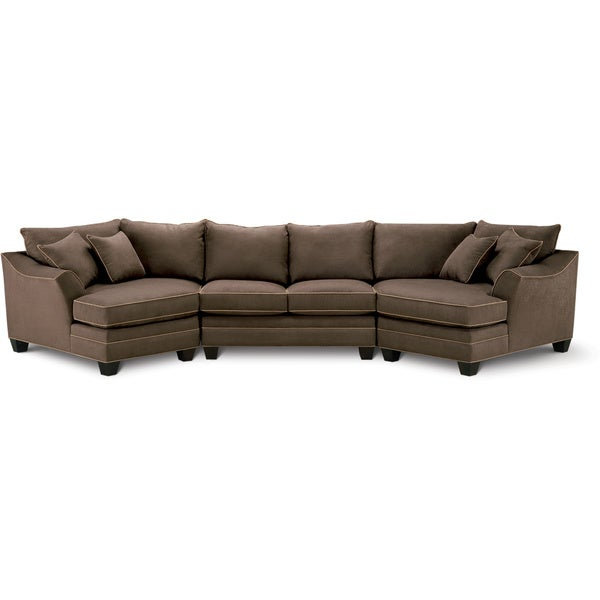 Art van dillon 3 piece sectional overstock shopping for Sectional sofa art van
