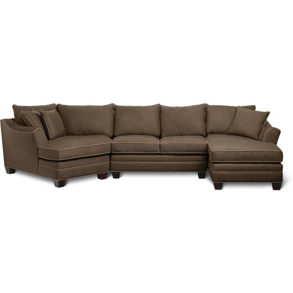Art van dillon 3 piece sectional 17102142 overstock for Sectional sofa art van