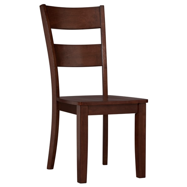 Art Van Choices Side Chair-Espresso