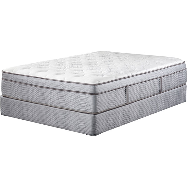 Art Van Laura Ashley 15-inch King-size Mattress Set
