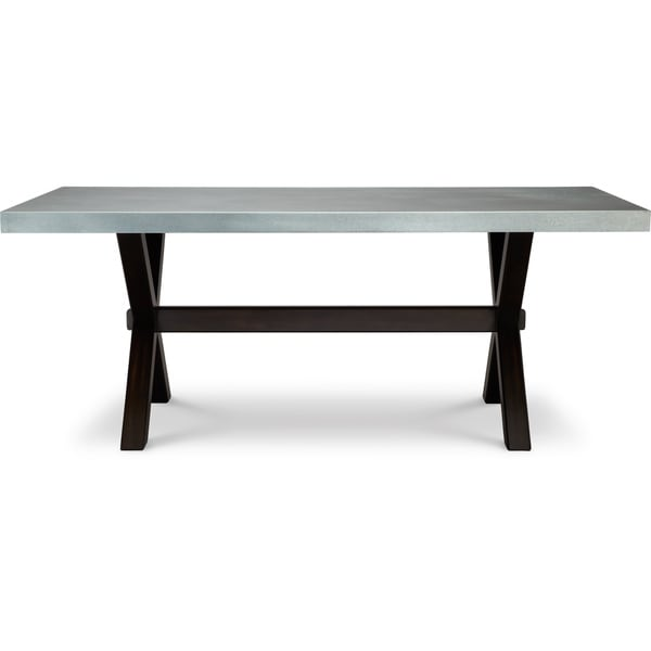 art van keaton trestle table 17102473 overstock