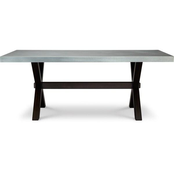 art van keaton trestle table overstock shopping great