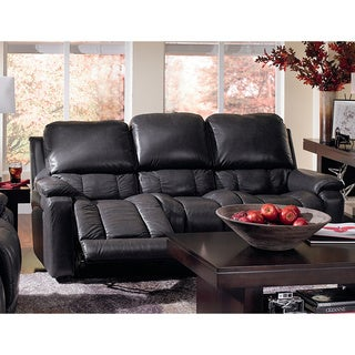 ART VAN Leather Reclining Sofa