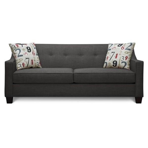 Art Van Axis Charcoal Sofa 17102860 Shopping Great Deals On Sofas Loveseats