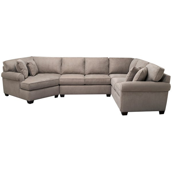 Art van marisol iii 3 piece sectional overstock shopping for Sectional sofa art van