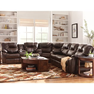 Art Van 3 Piece Power Sectional