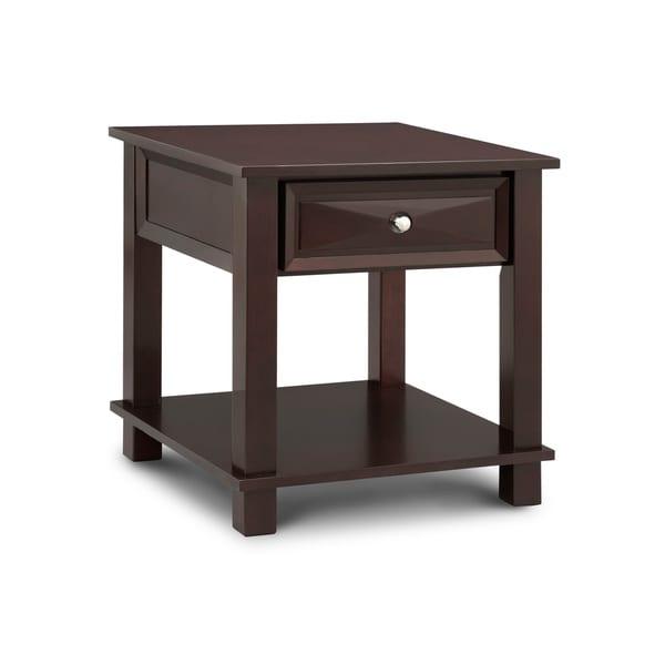 Art van wealthy end table overstock shopping great for Art van coffee tables
