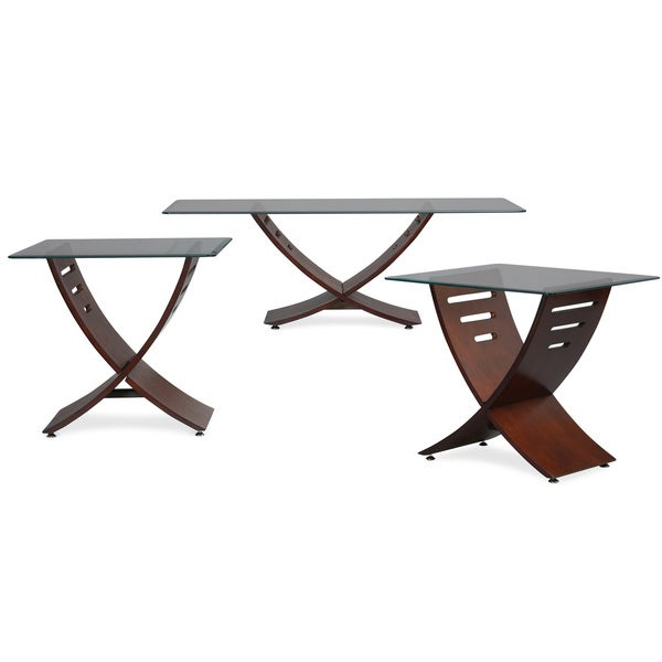 art van cafe cocktail and 2 end tables overstock