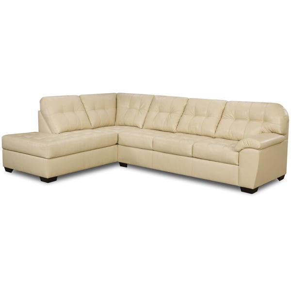 Art van soho 2 piece sleeper sectional overstock for Sectional sofa art van