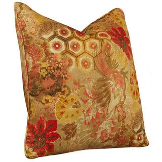 Tracy Porter 21-inch Windflower Henna Accent Pillow