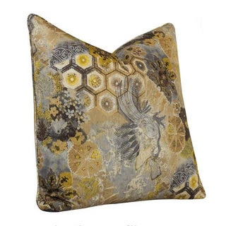 Tracy Porter 21-inch Windflower Silvercloud Accent Pillow