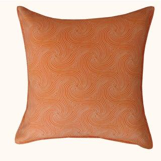 Jiti Outdoor Swirl Orange 20-inch Pillow