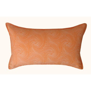 Jiti Outdoor Swirl Orange Long Pillow