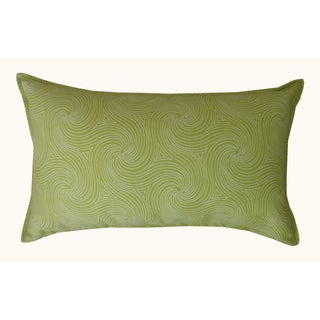 Jiti Outdoor Swirl Green Long Pillow