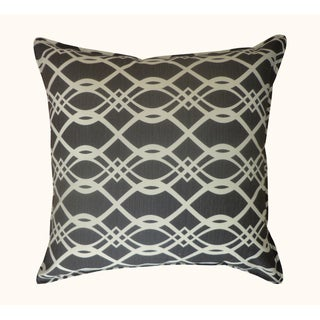 Jiti Outdoor Trellis Black 20-inch Pillow