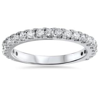 14k White Gold 1ct TDW Diamond Wedding Ring (I-J, I2-I3)