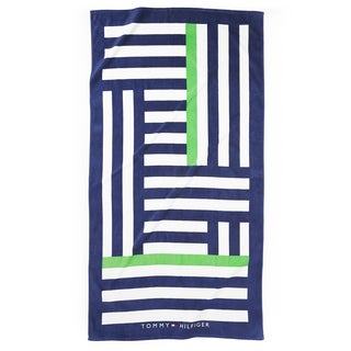 Tommy Hilfiger Oversized Stripe Beach Towel