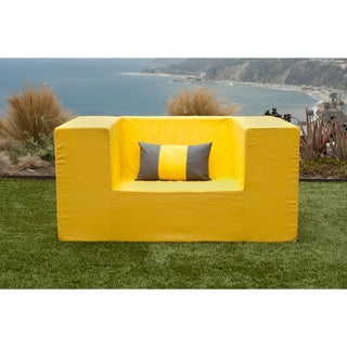 Softblock Lowboy Alice Yellow Chair