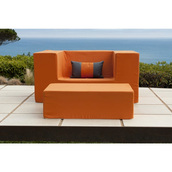 Softblock Lowboy Alice Orange Chair