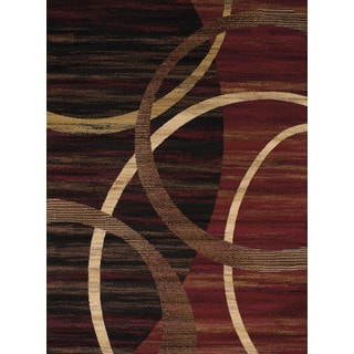 """Swags Ruby Accent Rug (1'8"""" x 2'8"""")"""