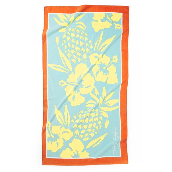 Tommy Hilfiger Oversized Pineapple Beach Towel