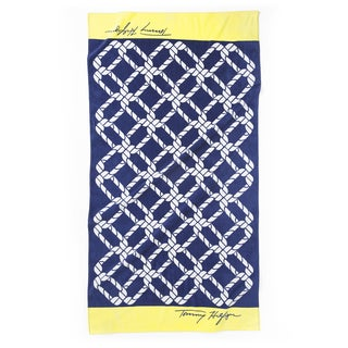 Tommy Hilfiger Geo Knot Oversized Beach Towel