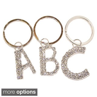 Detti Originals Crystal Initial Keychains