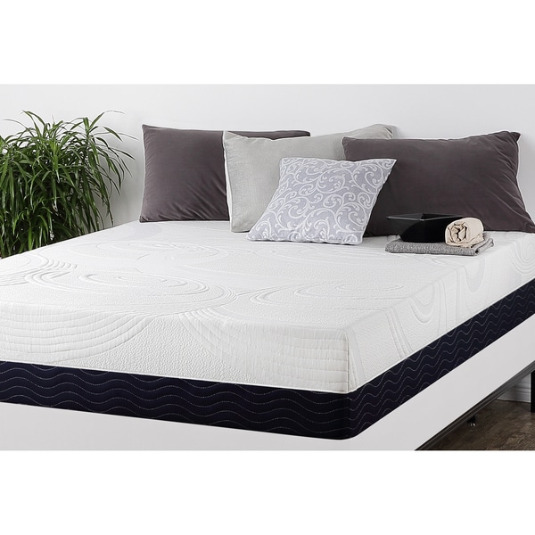 Priage 11-Inch King-size Hybrid Spring and Gel Memory Foam Mattress