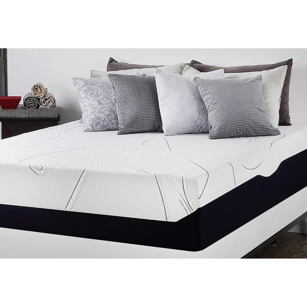 Priage 13-Inch California King-size Gel Memory Foam Mattress