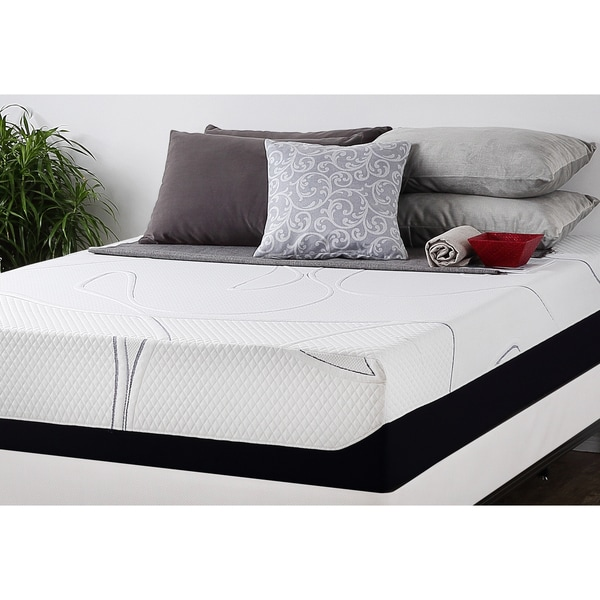 Priage 12-inchTwin-size Gel Memory Foam Mattress