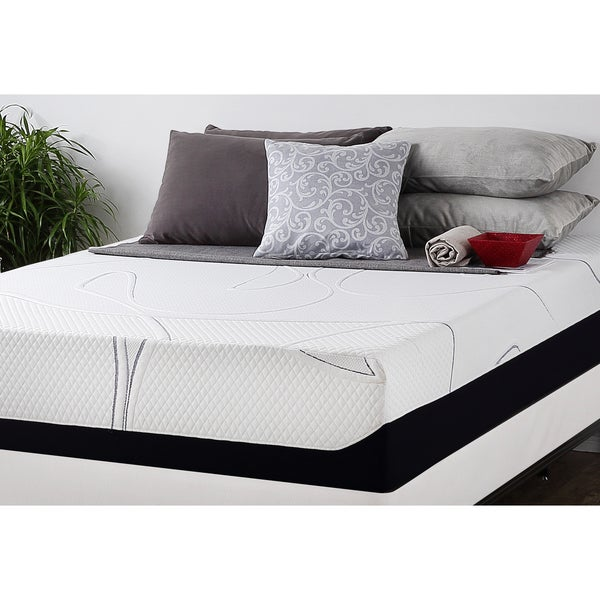 Priage 12-inch Full-size Gel Memory Foam Mattress