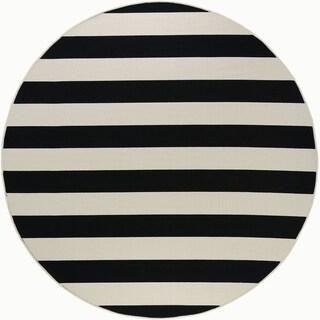 Garden Town Stripe Area Rug (7'10 Round)