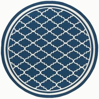 Alise Garden Town Moroccan Tile Area Rug (7'10 Round)