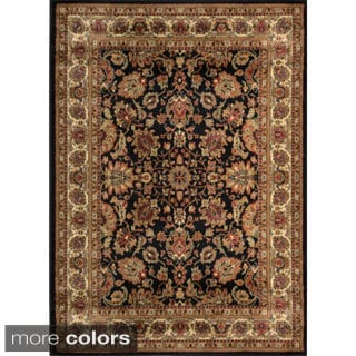 Jewel Traditional Floral Area Rug (7'8 x 10'4)