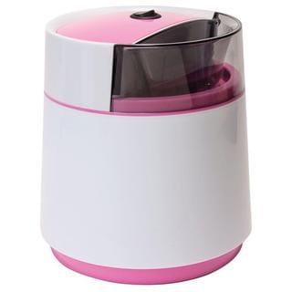 Dash DIC001WPK Pink Mini Ice Cream Maker/ Greek Fro-Yo Maker