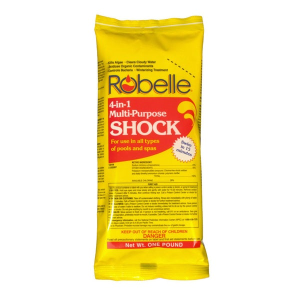 Robelle 4-in-1 Multi Purpose Shock