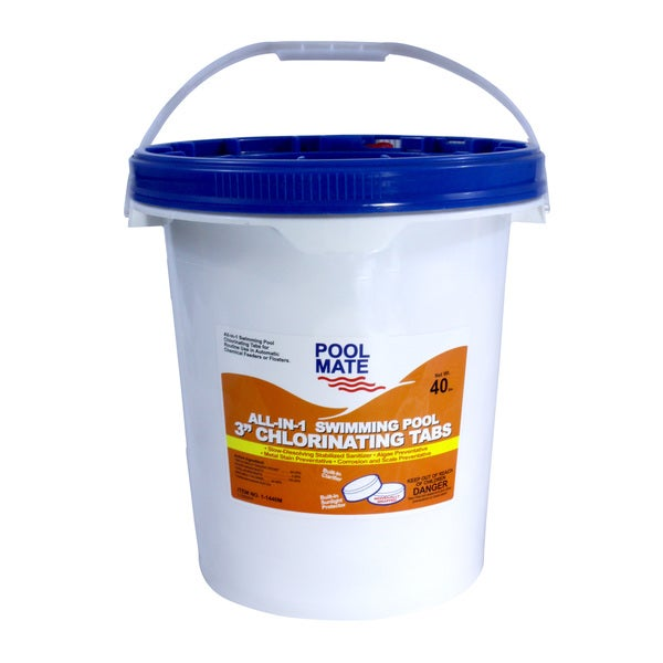 Pool Mate All In One Swimming Pool Three Inch Chlorinating Tabs 17105893