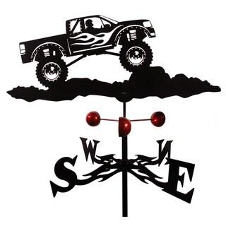 Farrell 4x4 Spinning Wheels Truck Weathervane