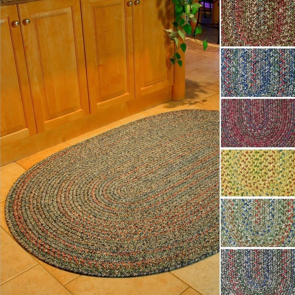 Sophia Indoor Outdoor Braided Reversible Area Rug by